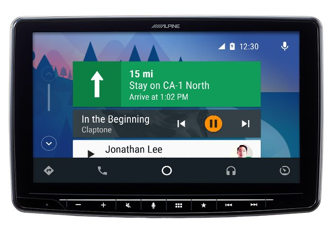 "Alpine iLX-F309 central multimidia 9"" CarPlay/AndroidAuto"