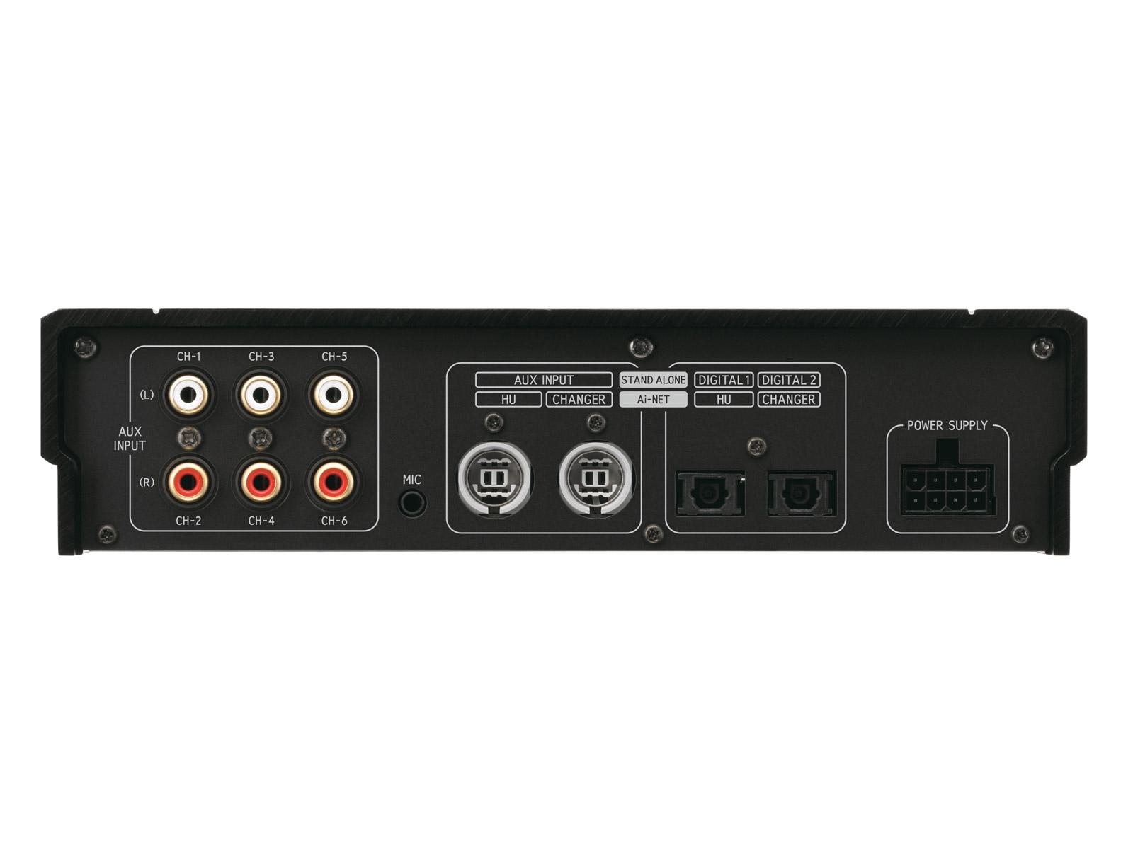Alpine PXA-H800 processador de 8 canais