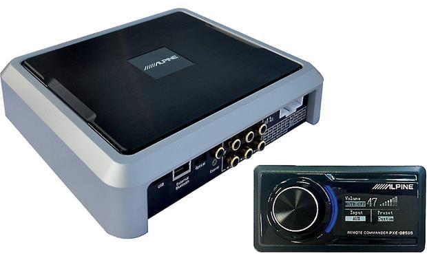 Alpine PXE-0850S processador de 12ch / amplificador de 8ch / BT audio