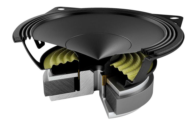"Audison Prima AP 4 Kit Mid Bass 4"" e 40W RMS"