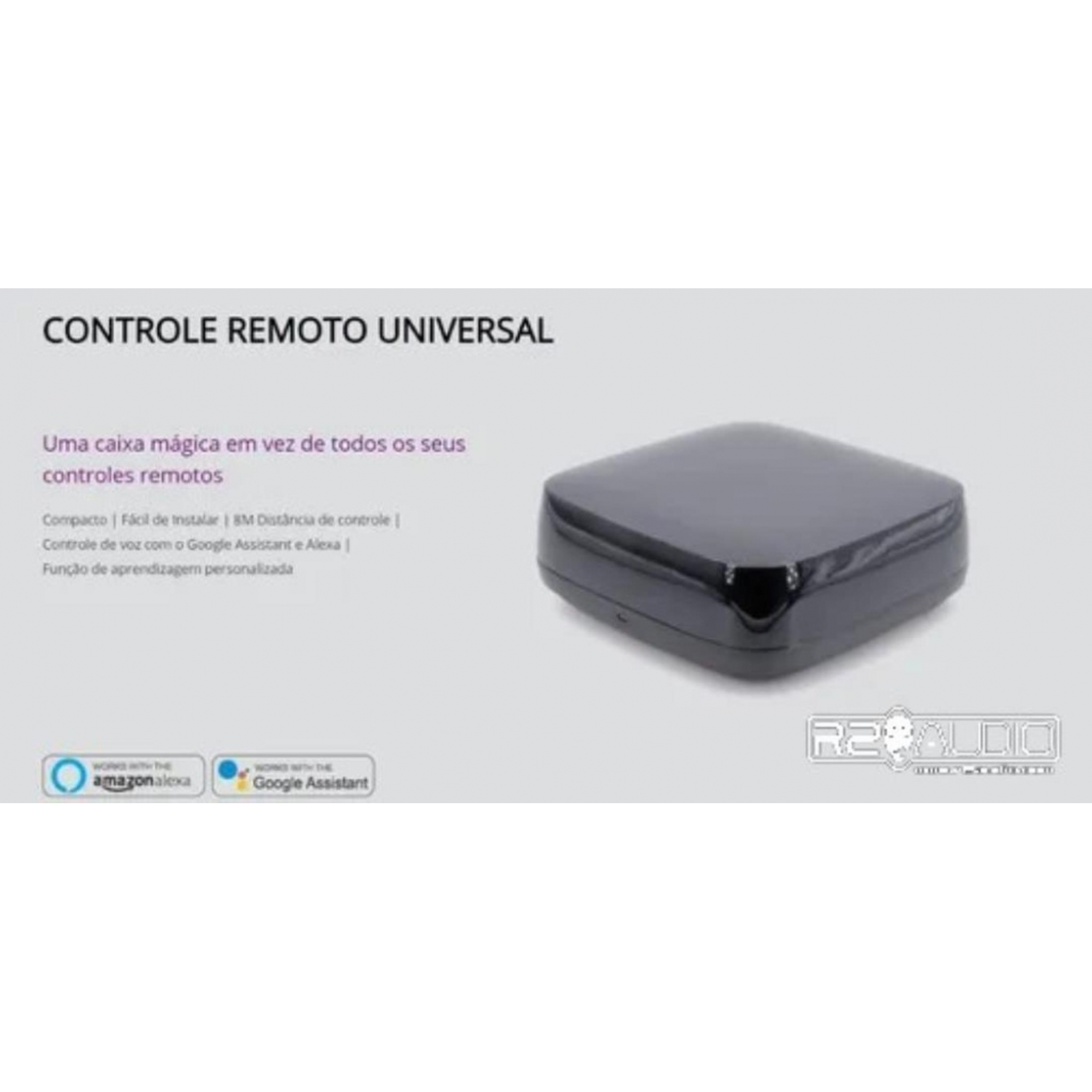 EKAZA Controle Remoto Inteligente Universal Googlehome Alexa