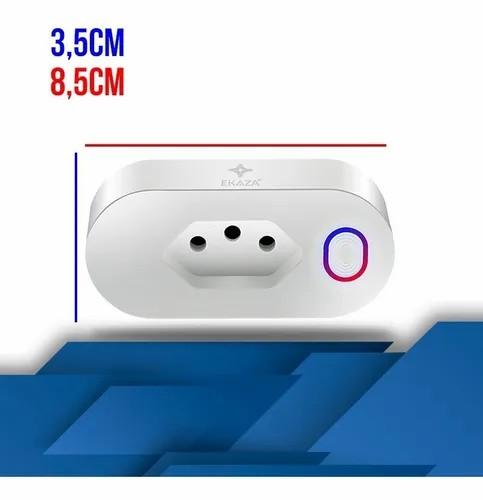 EKAZA Tomada Inteligente 16A (Com monitoramento de energia)