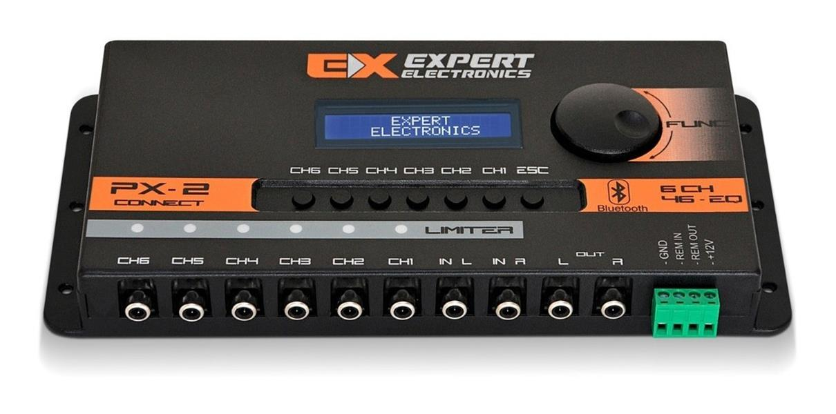 Expert Px2 Connect - Processador DSP Bluetooth