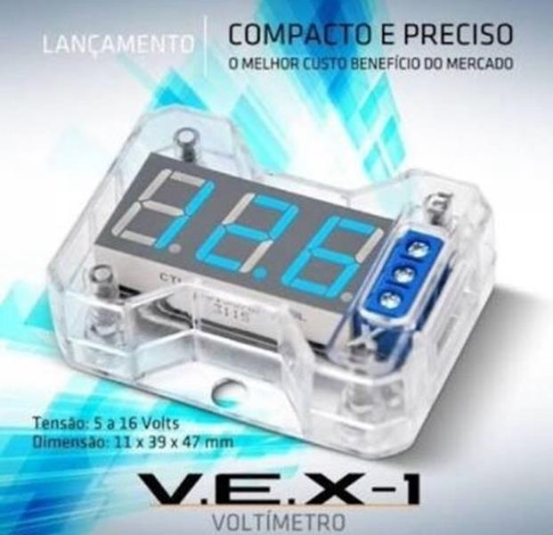 Expert VEX 1.0 - Voltimetro Digital Azul