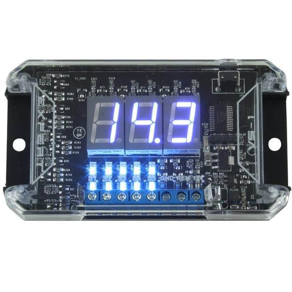 Expert VS1 - Voltimetro Digital Azul com Sequenciador