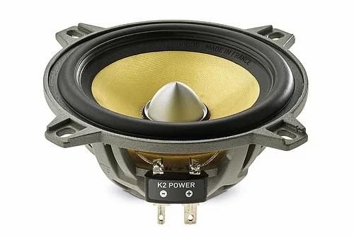 "Focal Elite K2 Power ES 100 K BMW - kit 2 vias 4"" (60W @ 4ohm)"