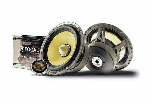 """Focal Elite K2 Power ES 165 KX2  kit 2 vias 6"""" (120w @ 2ohm)"""