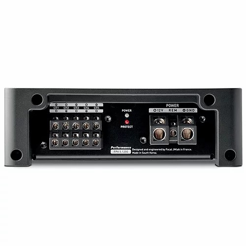 Focal FPX 5.1200 amplificador de 5/3 canais