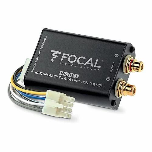 Focal HILO conversor RCA estéreo de alto nível