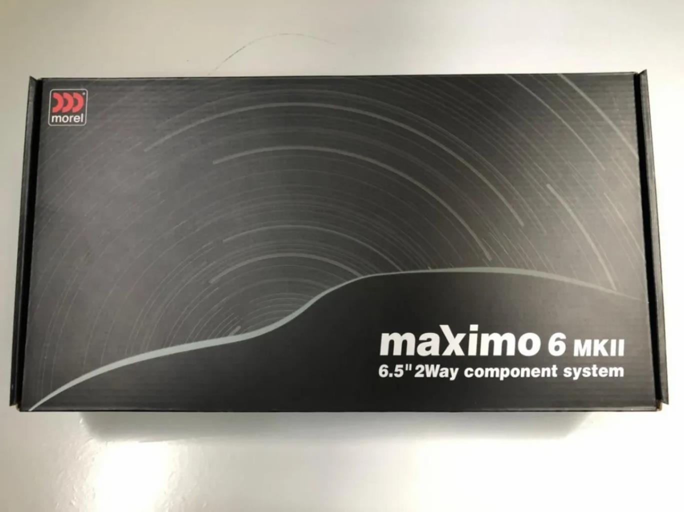 "Morel Maximo 6 MK2 - kit 2 vias de 6"" (90w Rms @ 4ohm)"
