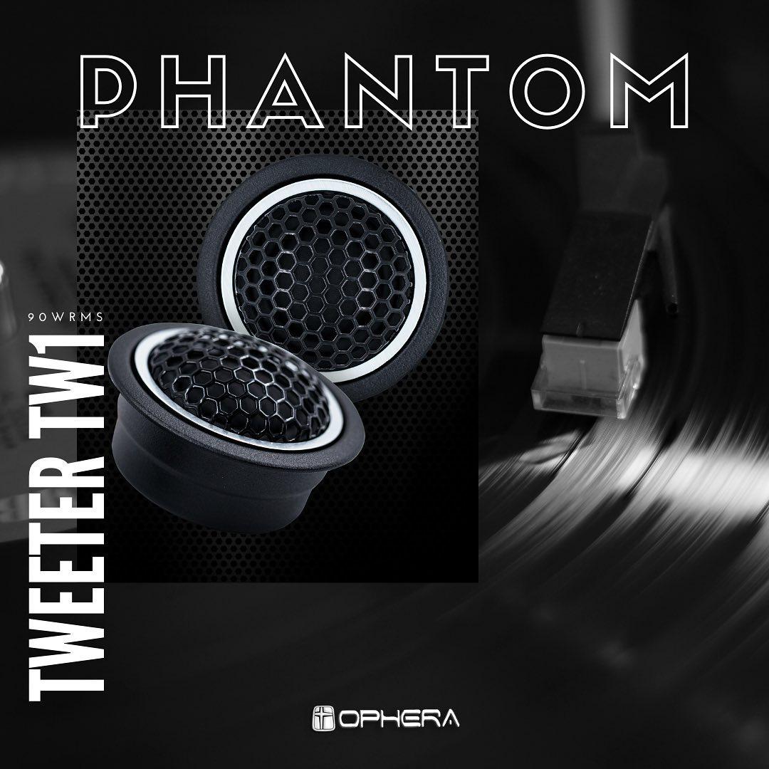 Ophera Phantom Tw1 - Tweeter 80w Rms @ 4ohm