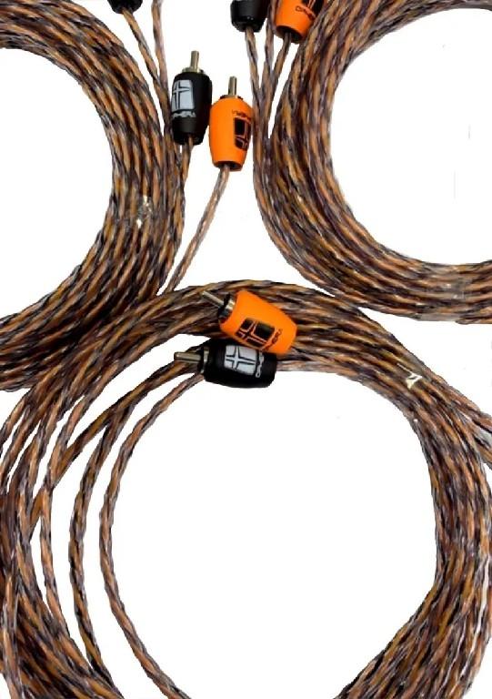 Ophera Professional Audio Cable (cabo RCA 5m 2 canais)