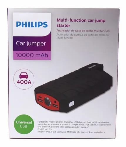 PHILIPS Auxiliar de partida Car Jumper Power Bank Lanterna