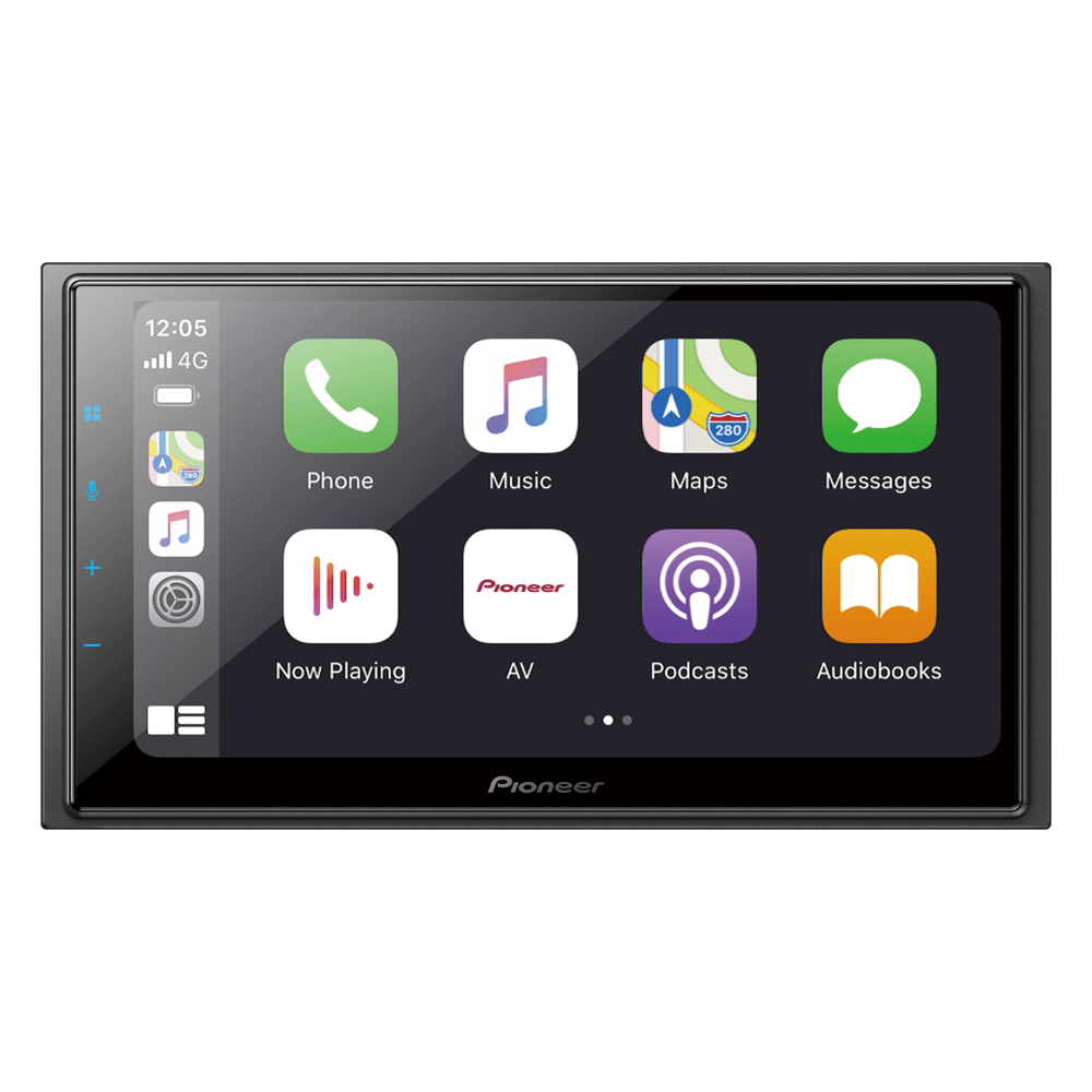 Pioneer DMH-Z6380TV - 2din wifi bt androidauto carplay tv modo rede