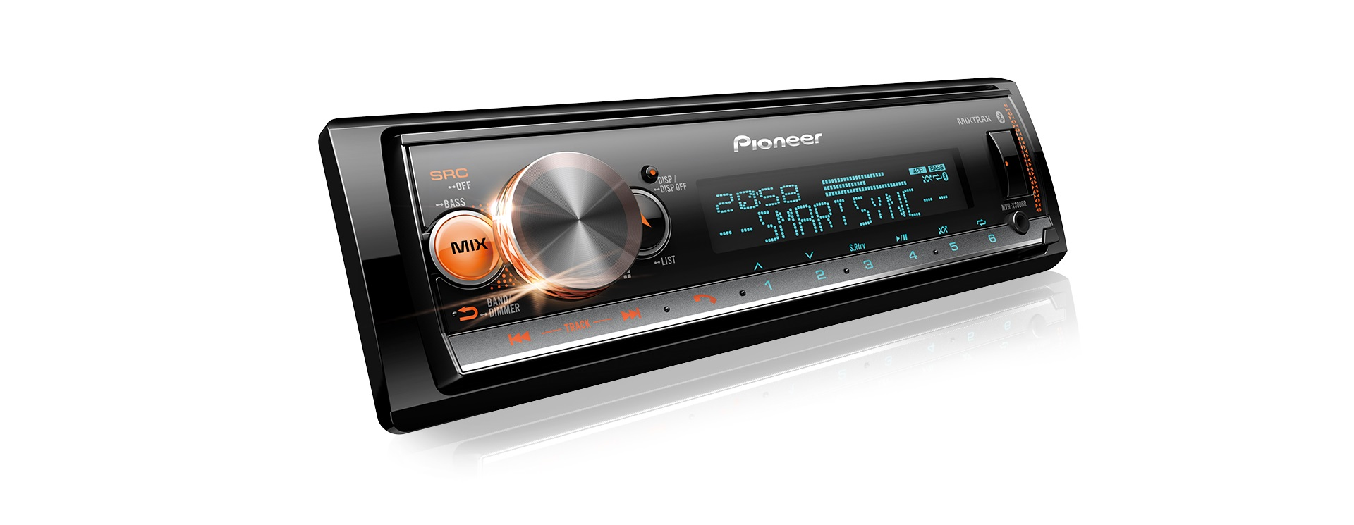 Pioneer MVH-X7000br - Media Player Bluetooth Usb Com Dsp