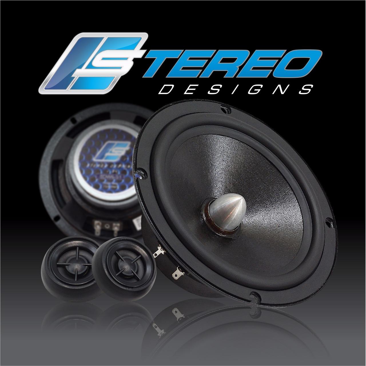 Stereo Designs SDS6-S1 - Kit 2 Vias 6  (150w @ 4ohm)