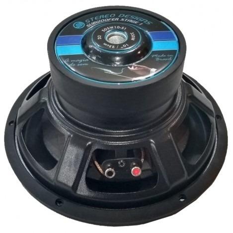 Stereo Designs SDSW-822 - Subwoofer De 8 (350w Rms - 2ohm)