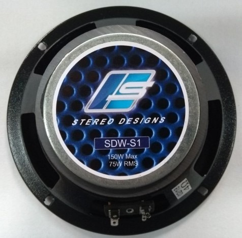 Stereo Designs SDW6-S1 - Midbass De 6  (150w @ 4ohm)
