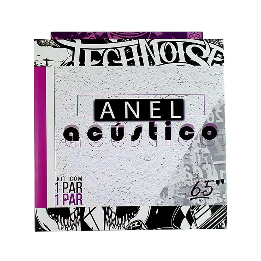 "Technoise aro acústico adesivo para 6"" (par)"
