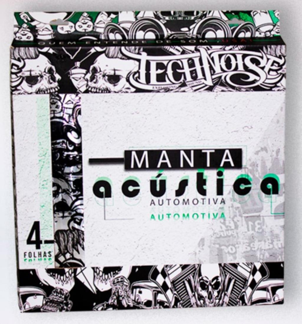Technoise Manta Acustica (pack - 4 folhas de 30,5 x 90cm)