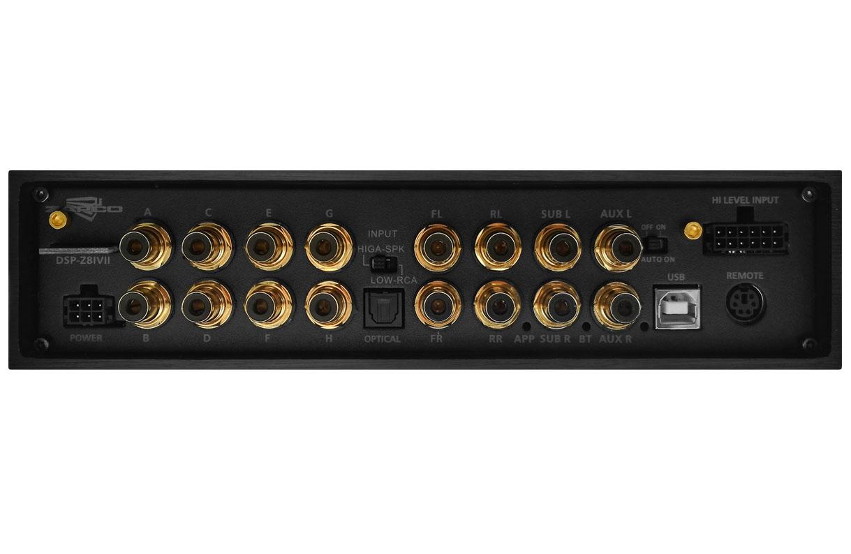 Zapco Dsp-z8 IV II (processador de audio de 8 canais e BT)