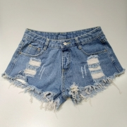Shorts Jeans Boyfriend Destroyed