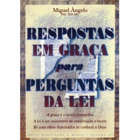 RESPOSTAS EM GRAÇA PARA PERGUNTAS DA LEI