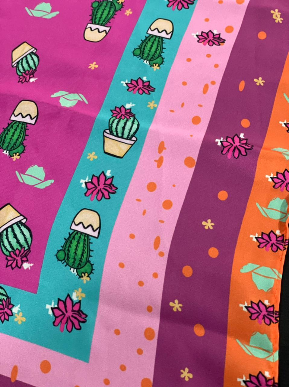 Lenço Cactus