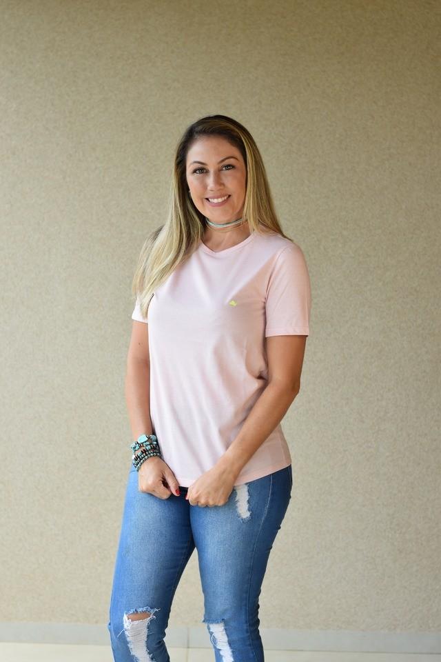 T-shirt básica Jackie
