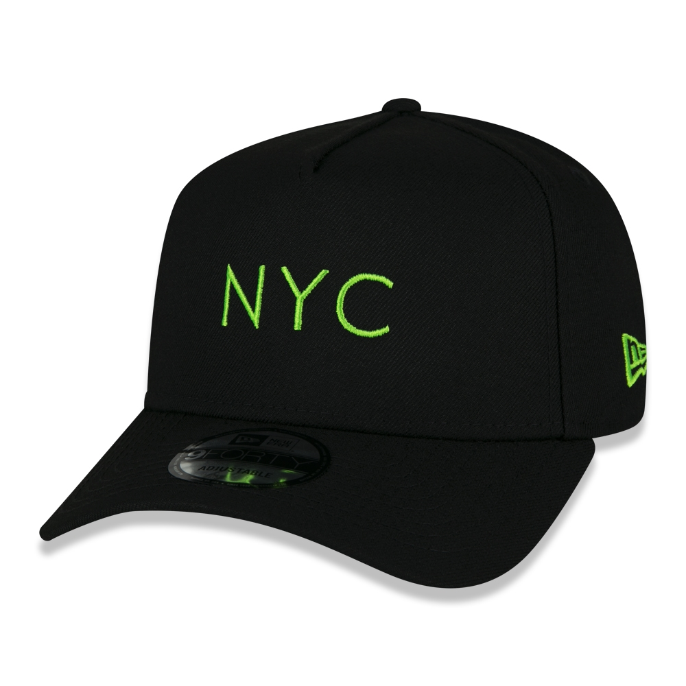 BONÉ NEW ERA 9FORTY NYC FLUOR VERDE