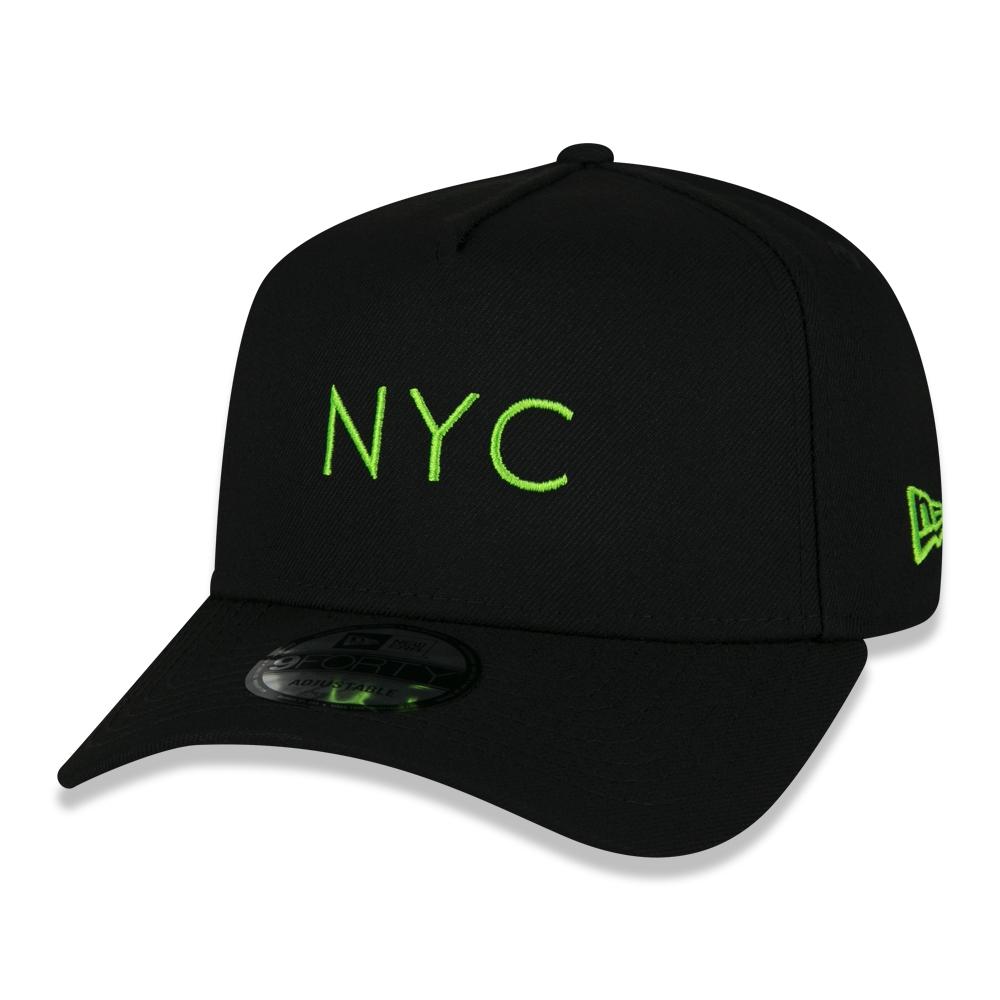BONÉ NEW ERA 9FORTY NYC FLUOR VERDE