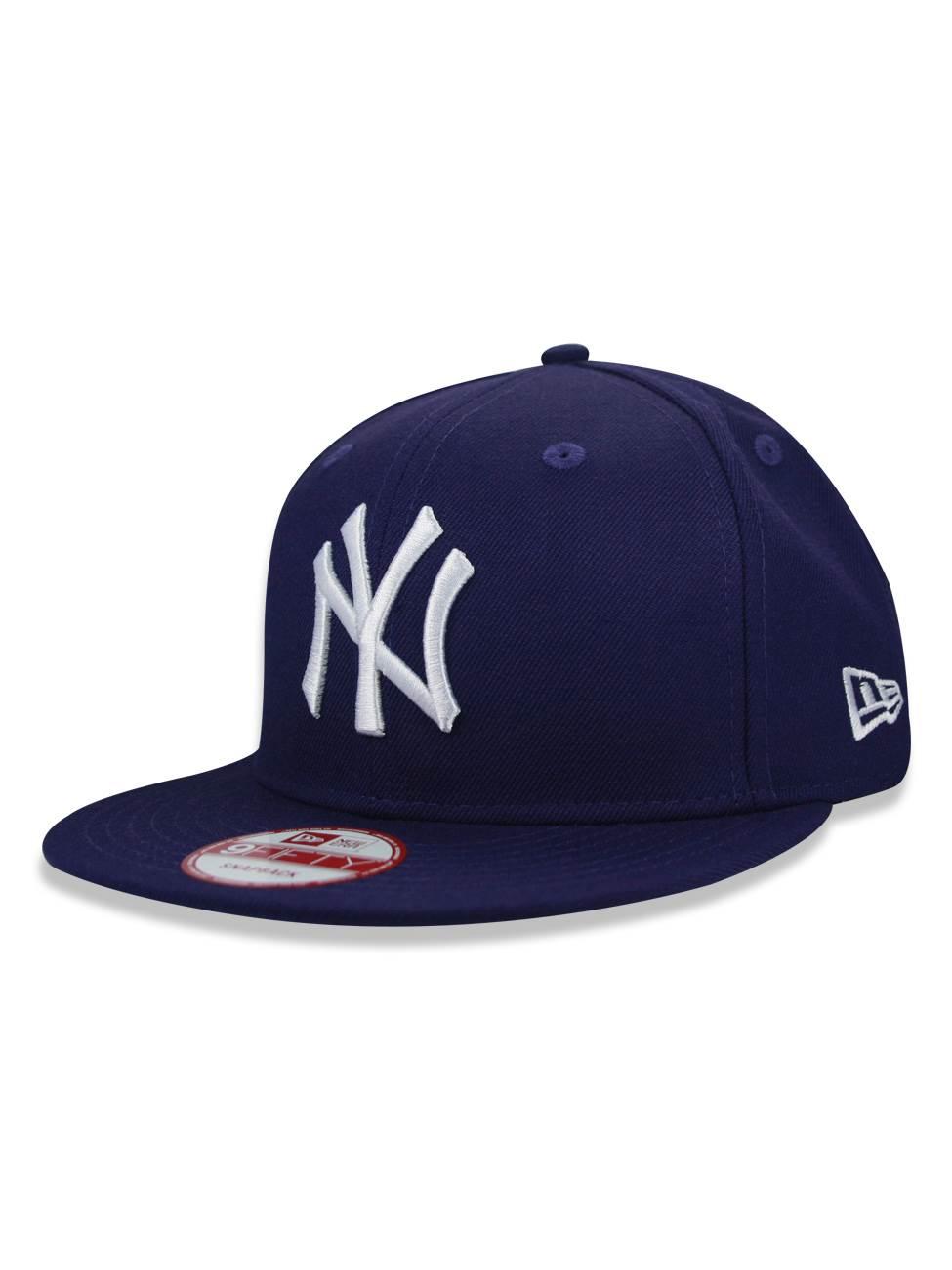 BONÉ NEW ERA MLB NEW YORK YANKEES ROXO