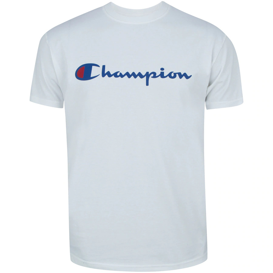 CAMISETA CHAMPION LOGO INK WHITE