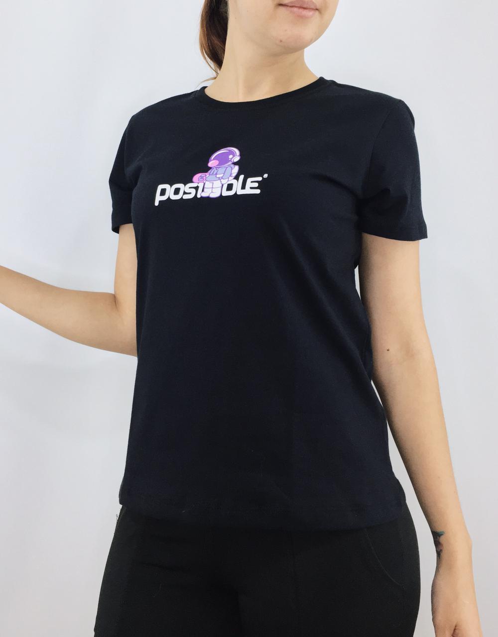 CAMISETA FEMININA POSIBLE ASTRONAUTA