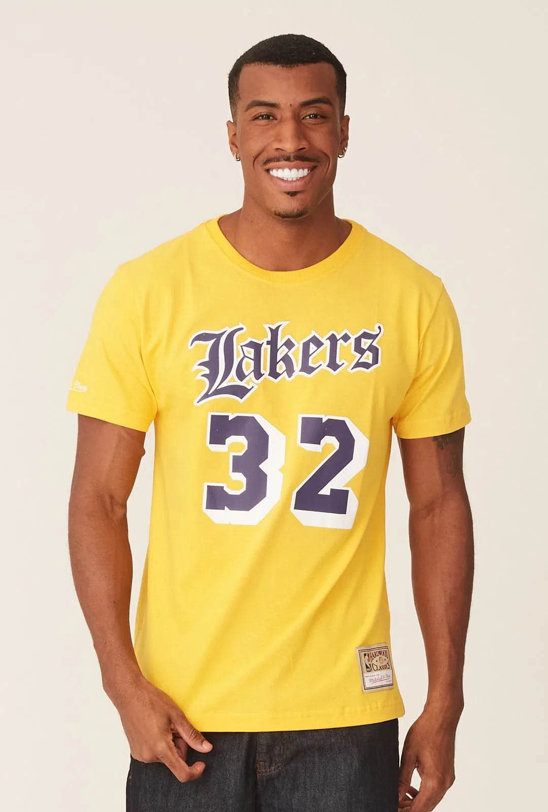 CAMISETA MITCHELL & NESS NBA LOS ANGELES LAKERS MAGIC JOHNSON