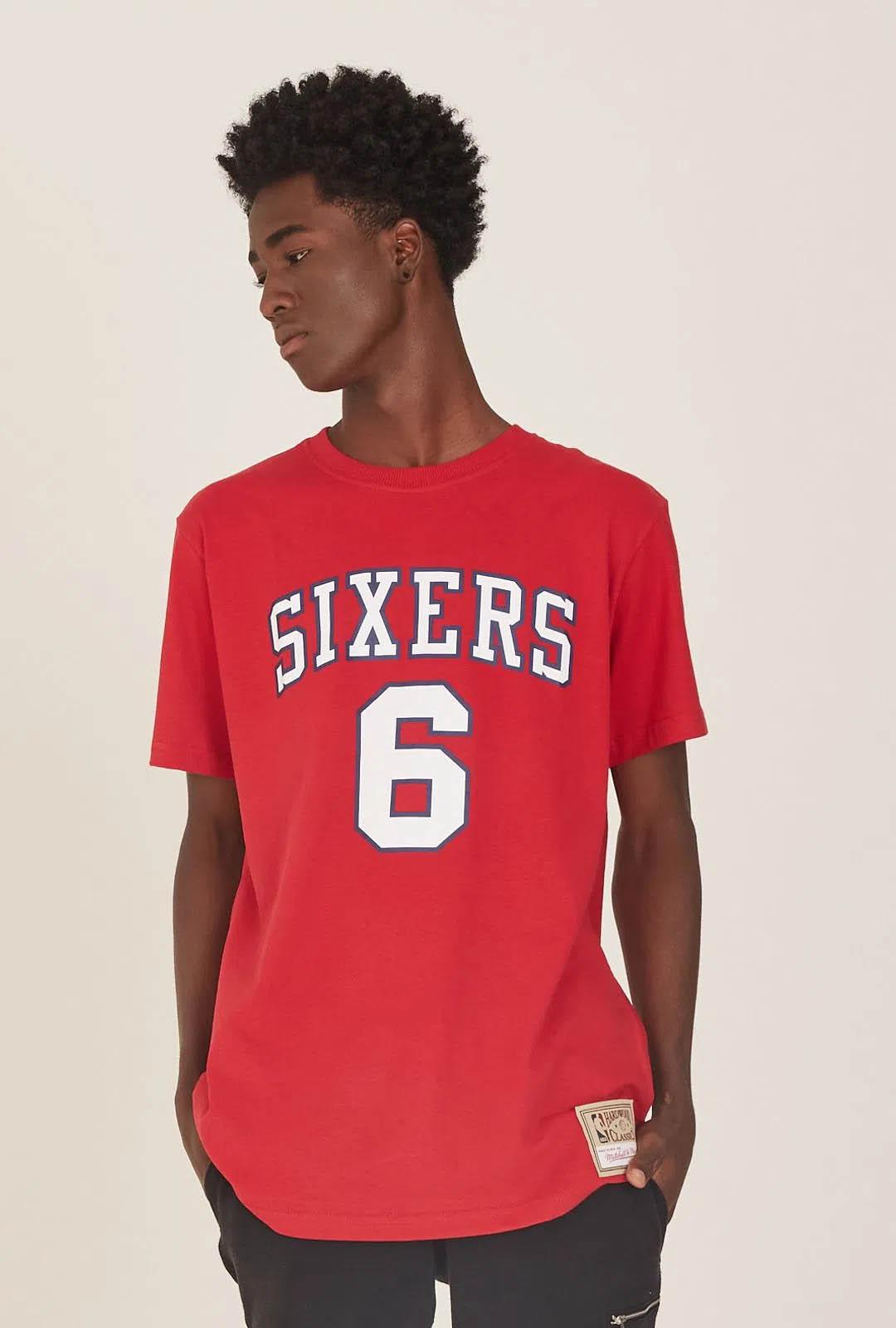 CAMISETA MITCHELL & NESS NBA SIXERS ERVING