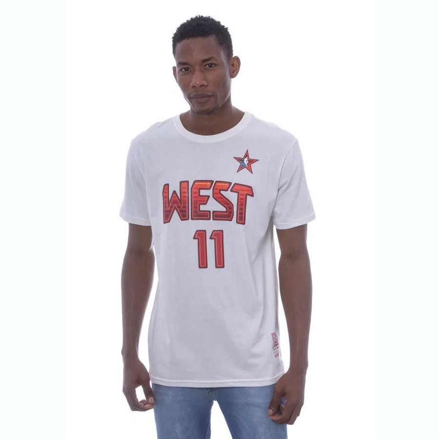CAMISETA MITCHELL & NESS NAME AND NUMBER WEST YAO 11