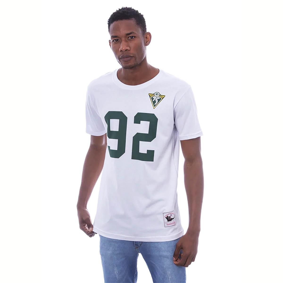 CAMISETA MITCHELL & NESS NFL GREEN BAY PACKERS WHITE