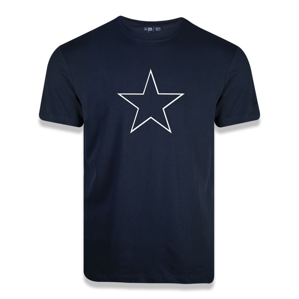 CAMISETA NEW ERA BASIC TIME DALLAS COWBOYS