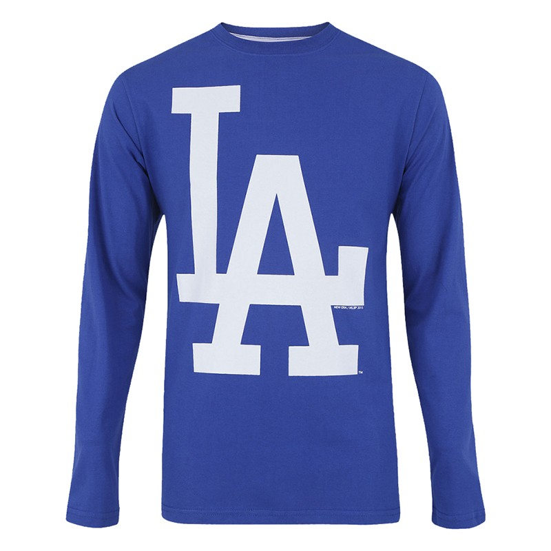 CAMISETA NEW ERA LOS ANGELES DODGERS MANGA LONGA