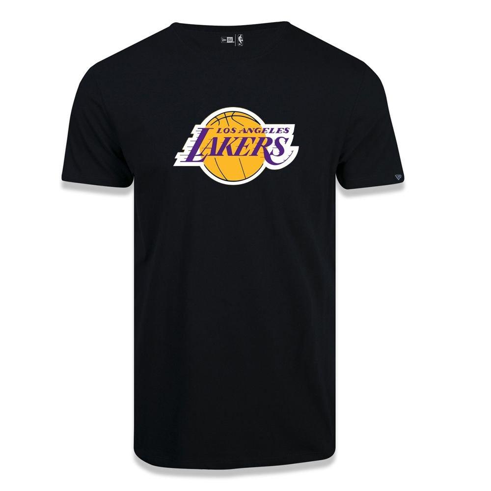 CAMISETA NEW ERA NBA BASIC LOGO LOS ANGELES LAKERS