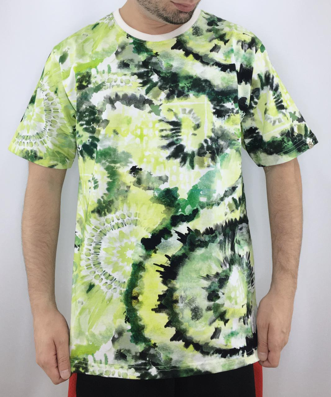CAMISETA POSIBLE TIE DYE GREEN