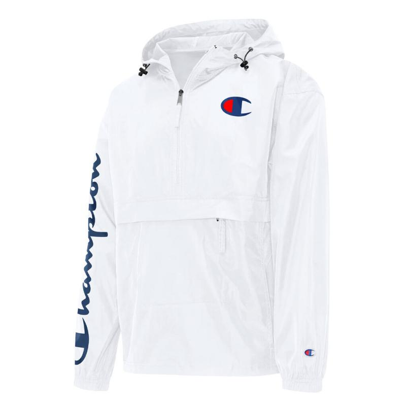 JAQUETA CHAMPION WINDBREAKER SILK WHITE