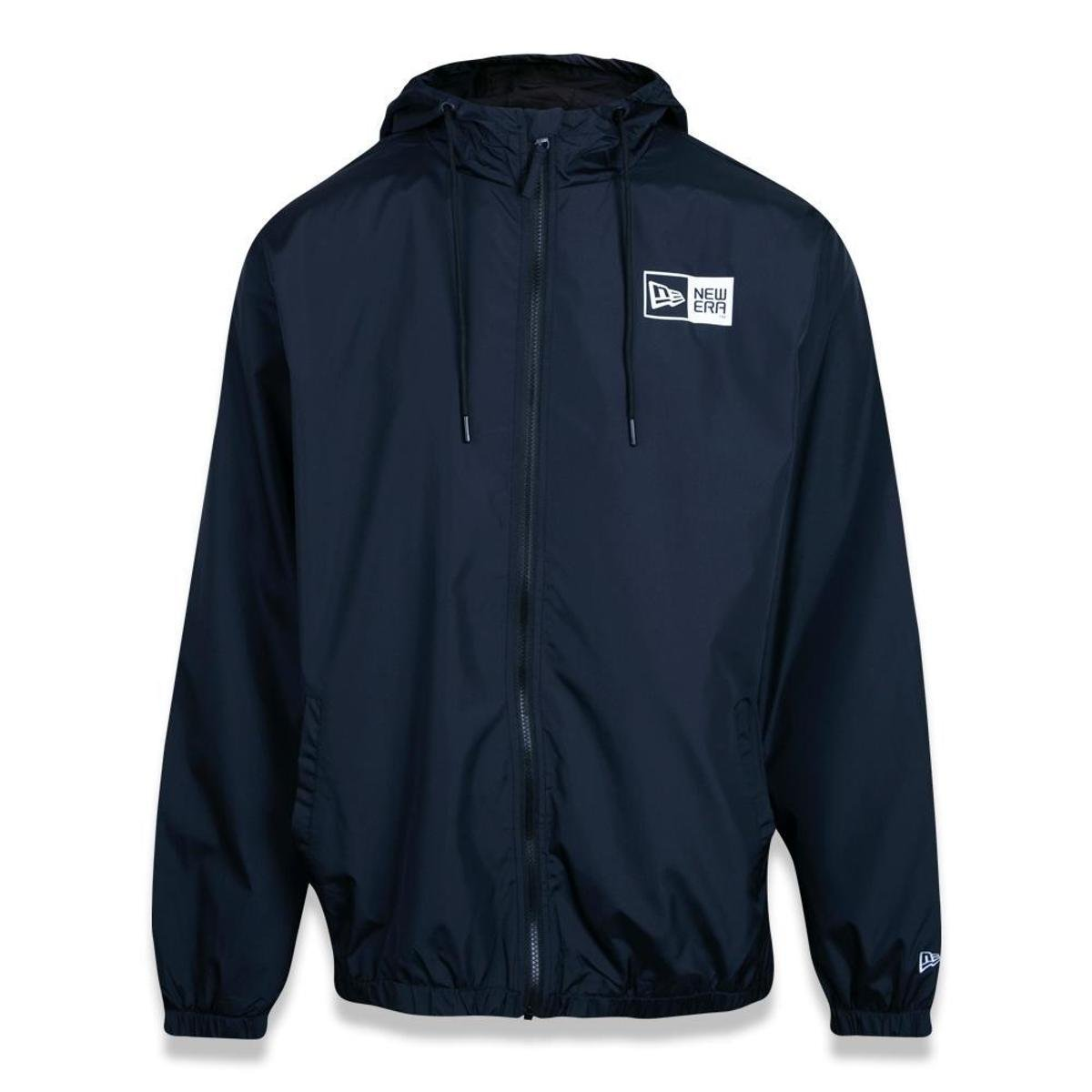 JAQUETA NEW ERA PLUS SIZE WINDBREAKER BRANDED
