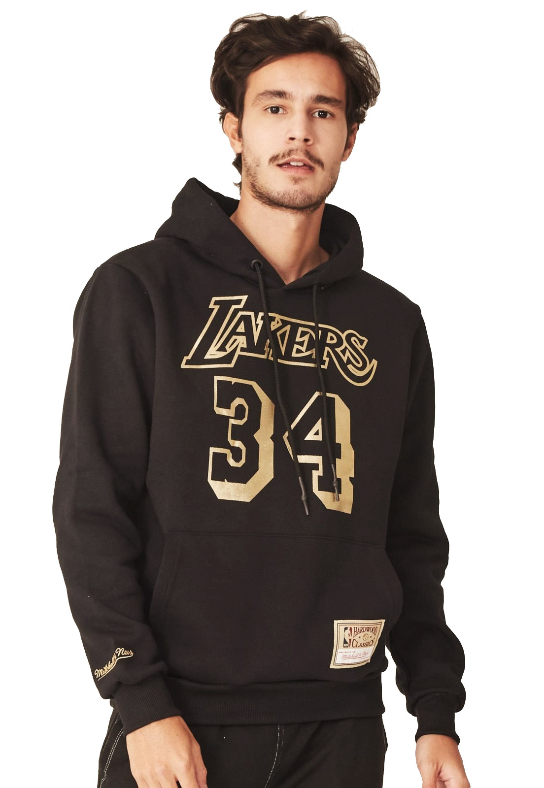 MOLETOM MITCHELL & NESS LOS ANGELES LAKERS ONEAL