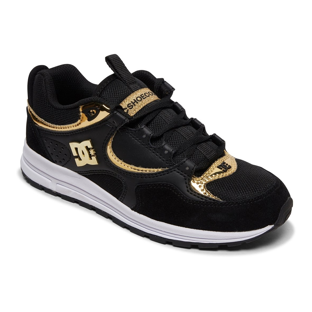 TÊNIS DC SHOES KALIS LITE SE BLACK GOLD