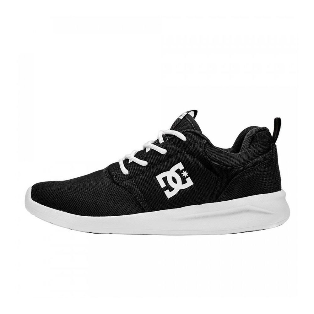 TÊNIS DC SHOES MIDWAY BLACK/WHITE