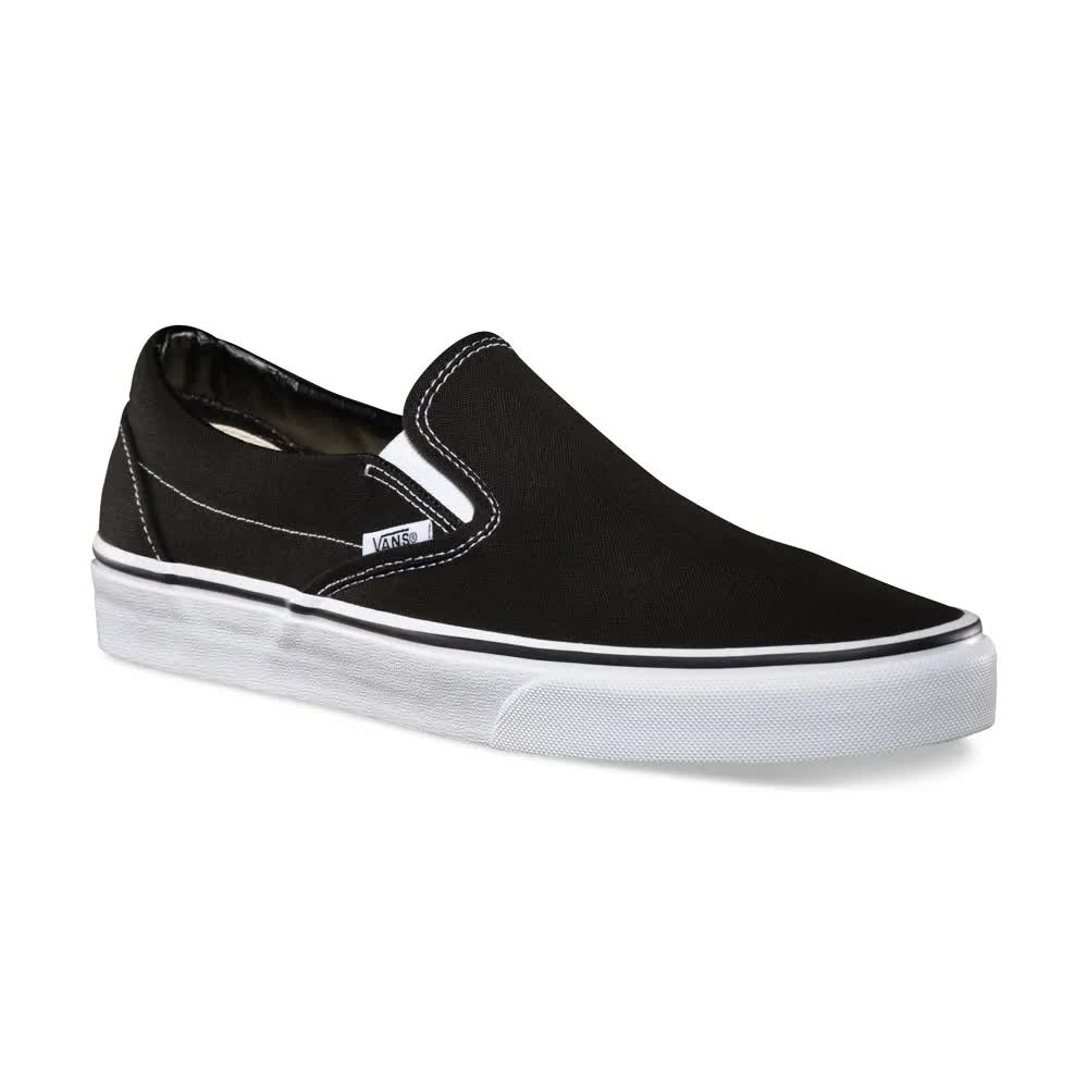 TÊNIS VANS CLASSIC SLIP ON BLACK