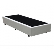 Base Box Solteiro 0.88x1.88 Corino Branco