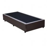 Base Box Solteiro 0.88x1.88 Corino Marrom